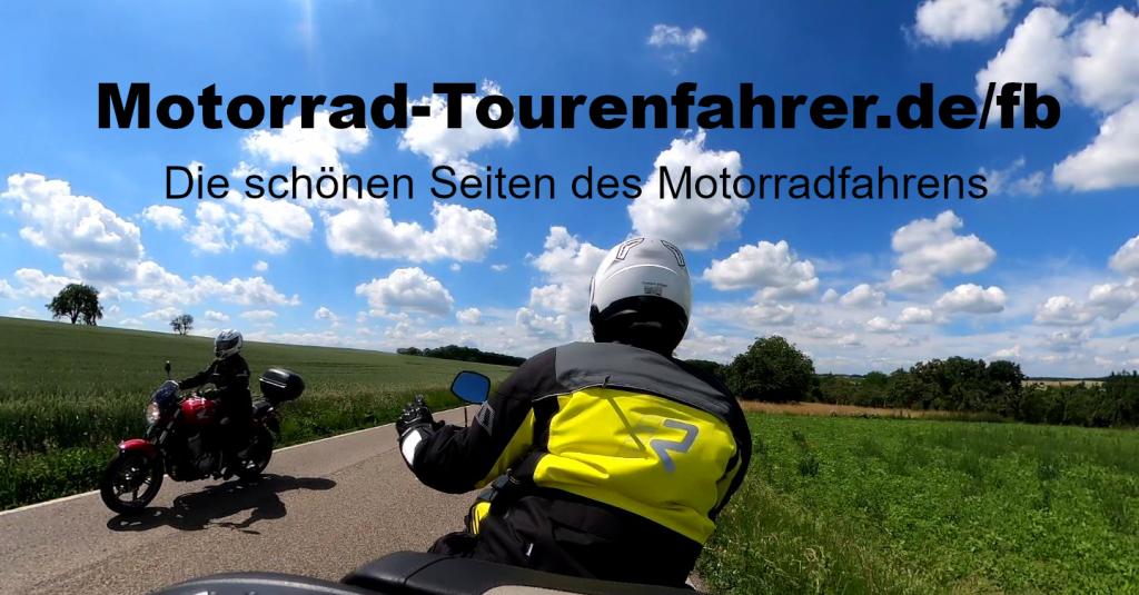 Motorrad Tourenfahrer Gruppe
