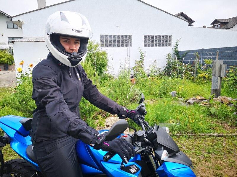 Sommer Motorradanzug Rukka Stretch Air Damen, schwarz